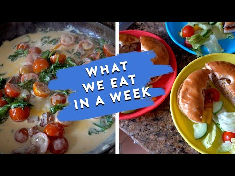 WHAT WE EAT IN A WEEK | FAMILY EVENING MEALS