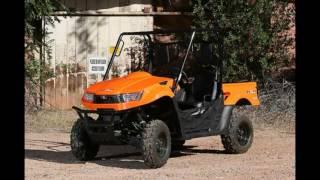 9. 2016 Kymco UXV 500i Orange