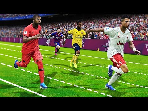 PES 20 SPEED TEST | Who is the fastest player in the game?