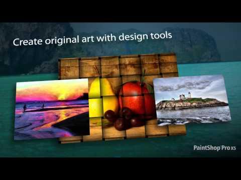 تحميل برنامج Corel PaintShop مجانا  لتحرير و تعديل الصور