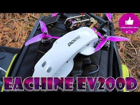 ✔ FPV Очки Eachine EV200D White, Обновленная Версия, $259 Banggood
