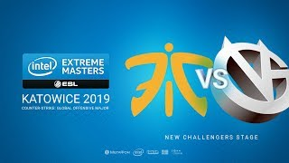 fnatic vs VG, game 1
