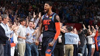 Paul George Game Winner vs Rockets! Westbrook Trip Dub! 2018-19 NBA Season