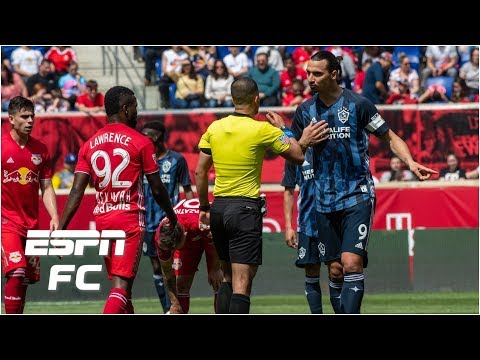 Zlatan Ibrahimovic's goal & assist not enough as LA Galaxy fall 3-2 to Red Bulls | MLS Highlights