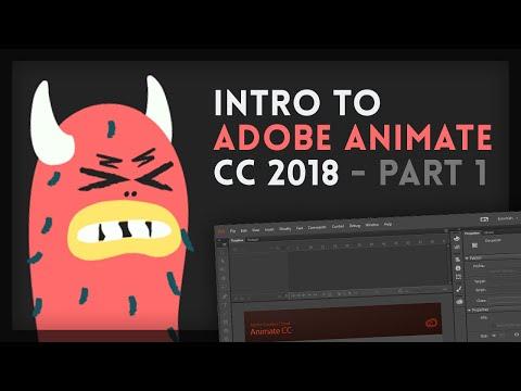 Intro to Adobe Animate CC 2018 [1/4] | Tutorial