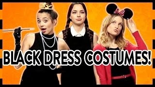 3 Easy Halloween Costumes With A Little Black Dress!
