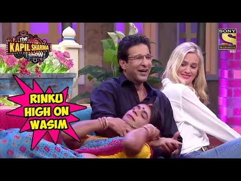 Video Rinku Devi Goes Gaga Over Wasim Akram - The Kapil Sharma Show download in MP3, 3GP, MP4, WEBM, AVI, FLV January 2017