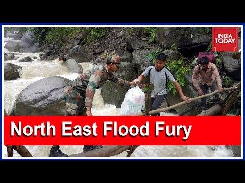 China Releases Water, Arunachal Pradesh Floods