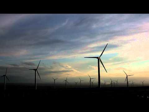 亞洲最大風力發電站!轉─..