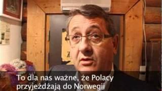 Spotkanie Polonii z Oslo z norweskimi politykami Erna Solberg i Per-Kristan Fossem.