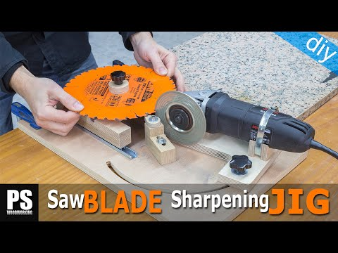 Saw Blades & Router Bits Sharpening Jig