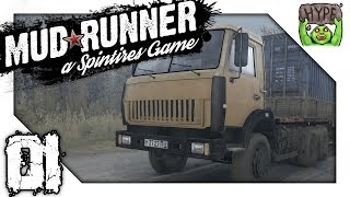 Mud Runner : Spintires - The Rig Challenge! - Ep 01