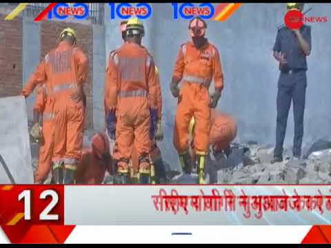 Video News 100: NDRF retrieved 9 bodies from under the collapsed building in Greater Noida download in MP3, 3GP, MP4, WEBM, AVI, FLV January 2017