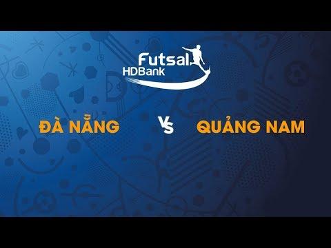 TRỰC TIẾP | ĐÀ NẴNG - QUẢNG NAM | Vòng loại giải futsal HDBank VĐQG 2019 | BLV Quang Huy - Thời lượng: 1 giờ và 36 phút.