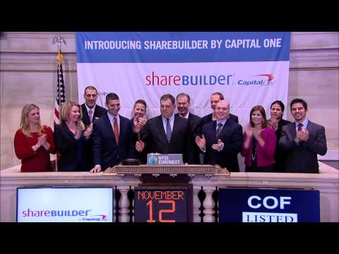 Capital One ShareBuilder Celebrates New Brand, Debuts New Online Investing Tools