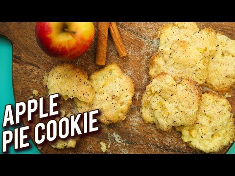 Apple Pie Cookie Recipe – Homemade Eggless Apple Cookies – Diwali Snack Recipe – Bhumika Bhurani