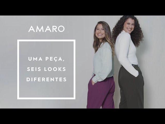 UMA PEÇA, SEIS LOOKS DIFERENTES | #AMAROteam - Amaro