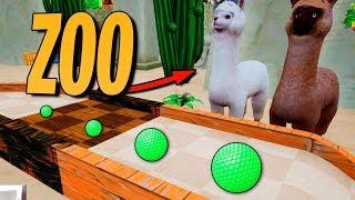 GOLF IT | TODOS LOS ANIMALES DEL ZOO!!