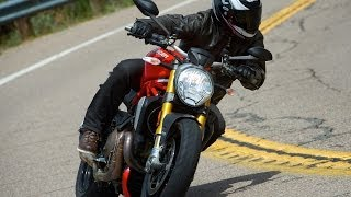 8. 2014 Ducati Monster vs KTM 1290 Super Duke Part 1 - MotoUSA