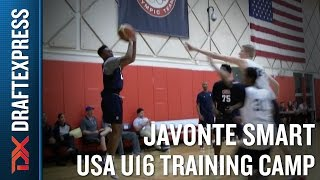 Ja'Vonte Smart 2015 USA U16 Training Camp Footage - DraftExpress