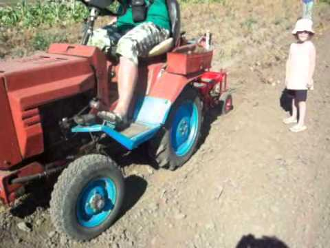 Картофелекопалка для трактора т-40 своими руками