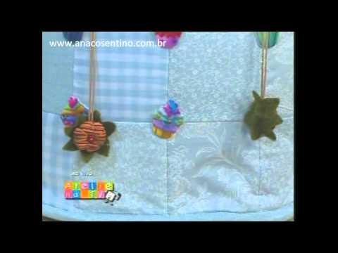 Ana Cosentino no Ateliê na TV: Bolsinha com Botões We Care About (Tv Gazeta 05/04/2012)