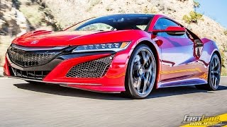 All-Electric Acura NSX - Fast Lane Daily by Fast Lane Daily