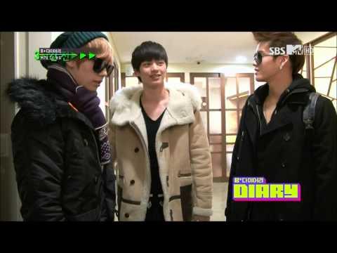 HD (ENG SUBS) 121211 BTOB B+DIARY EP 2 (3/4) (видео)