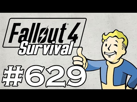 Let's Play Fallout 4 - [SURVIVAL - NO FAST TRAVEL] - Part 629 - PINK DEATHMACHINE Mp3