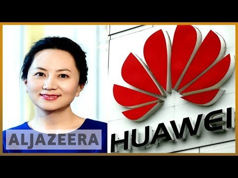 🇨🇦🇨🇳Canada arrests CFO of Chinese telecoms giant Huawei   Al Jazeera English