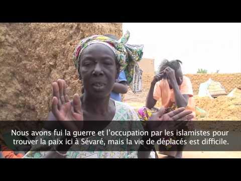 Mali: Déplacés à Mopti