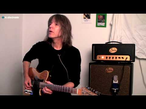 "In this video Mike Stern is creating his ""Mike Stern Delay"" TonePrint for the Flashback Delay pedal from TC Electronic."