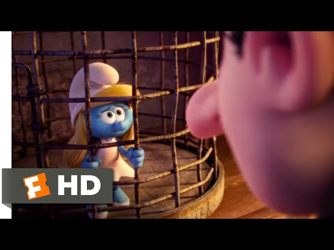 Smurfs: The Lost Village (2017) - The Great Escape Scene (4/10) | Movieclips