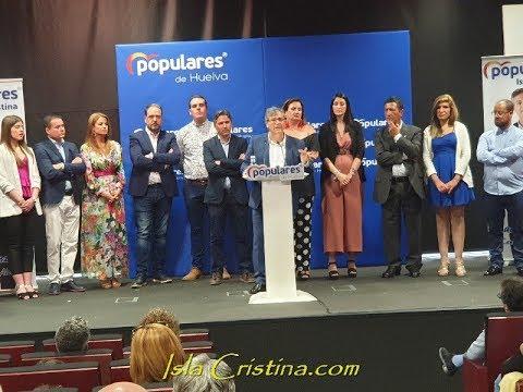 Acto Oficial de Presentación Partido Popular de Isla Cristina