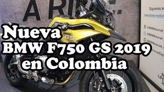 6. Nueva BMW F750 GS 2019 en Colombia Precio y Ficha Técnica