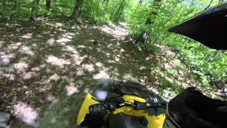 2. bombardier rally 200 atv trails