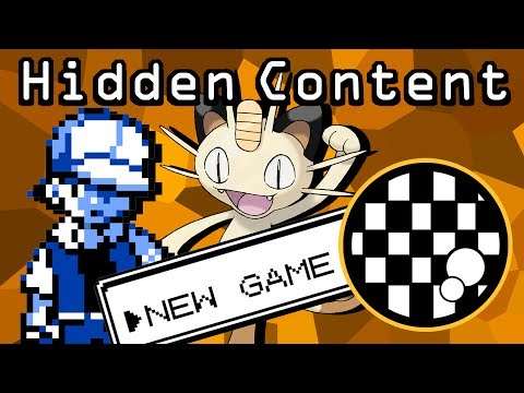 Hidden Content: Making Pokemon Red/Blue/Yellow Almost Impossible