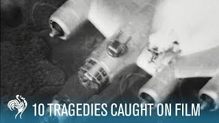 Video 10 More Tragedies Caught on Film | British Pathé MP3, 3GP, MP4, WEBM, AVI, FLV Juli 2019