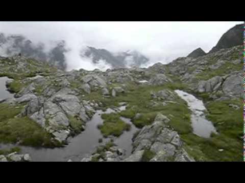 On the Stubai Höhenweg (видео)