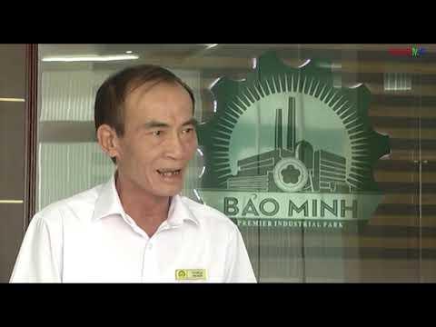 Bản tin thời sự tối đài truyền hình Nam Định ngày 09/10/2019 về KCN Bảo Minh, Nam Định.