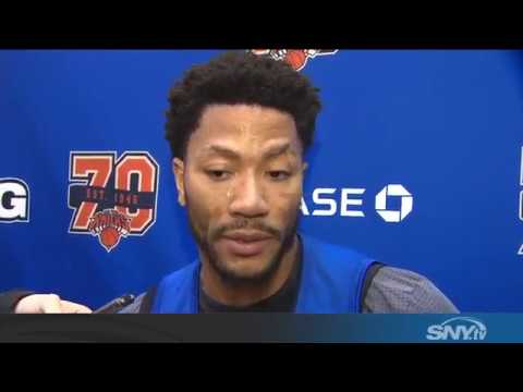 Video: Jeff Hornacek and Derrick Rose talk New York Knicks trade rumors