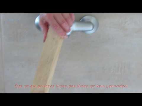 Wasserhahn - Griff demontieren / entfernen