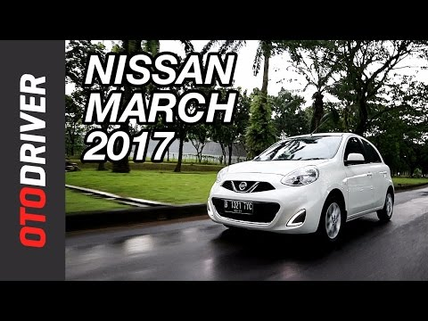 Nissan March 2017 Review Indonesia | OtoDriver (видео)