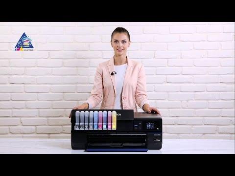 Принтер Epson SureColor SC-P800 - обзор и комплектация