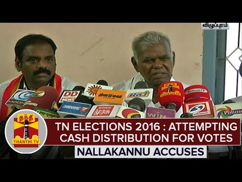 TN-Elections-2016--Nallakannu-Accuses-Political-Parties-Over-Cash-Distribution-For-Votes