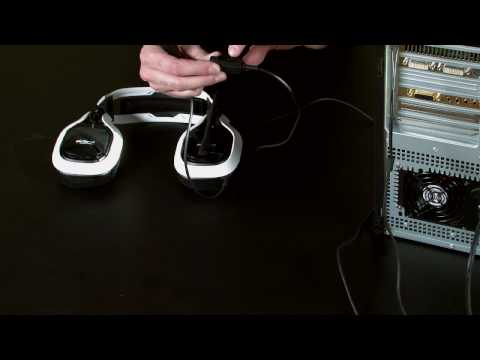 headset set up - How to set up your A40 Headset directly to a PC.