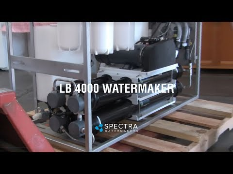 Solar Powered Desalination Unit: 4000 Gallons per Day
