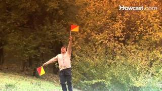 How to Send a Rescue Signal by Semaphore