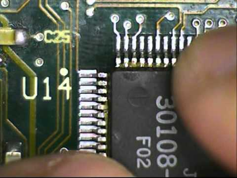 80-pin QFP Re-Soldering.mpg