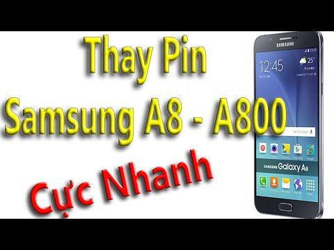 Thay pin Samsung A8